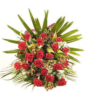 Kytice Smuteční kytice červená smutecni-kytice