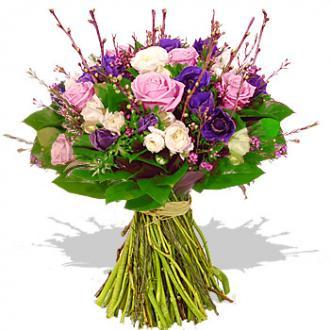 Kytice Růžová kráska kvetiny