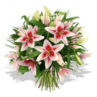 Kytice Královské lilie kvetiny