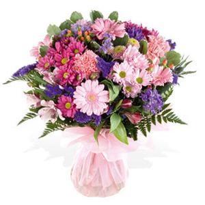 Kytice Duhová kytice kvetiny