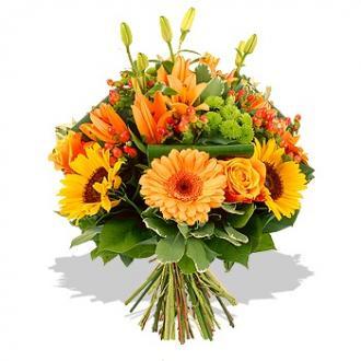 Kytice Sluneční kytice kvetiny