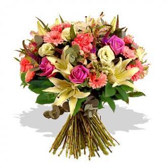 Kytice Děkuji kvetiny