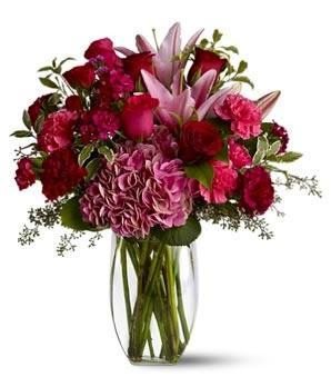 Kytice Deep pink kvetiny