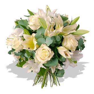 Kytice Bílá Krása kvetiny