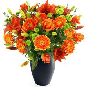 Kytice Oheň kvetiny