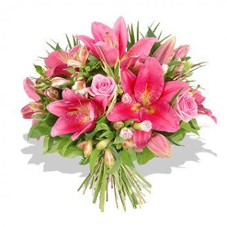 Kytice Pink kvetiny